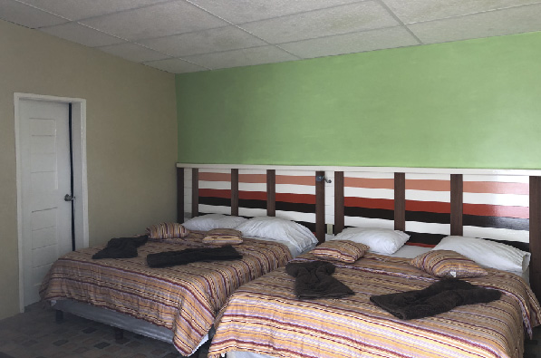 Habitación Cuádruple Posada Icaro