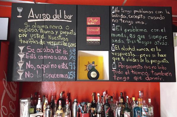 posada icaro cuenta con un bar para celebrar